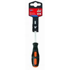 Отвертка крестовая РН0х75мм, Top Tools